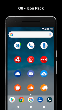 O8 - Android Oreo 8.0 Icon Pack pc screenshot 2