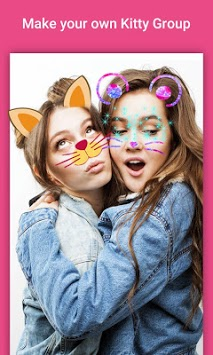 Cat Filter - Face Swap Face360 Stickers pc screenshot 1