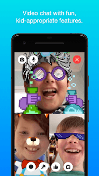 Messenger Kids – Safer Messaging and Video Chat pc screenshot 2
