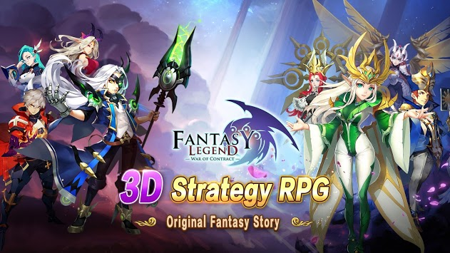 Fantasy Legend: War of Contract pc screenshot 1