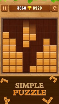 Wood Block Puzzle pc screenshot 2