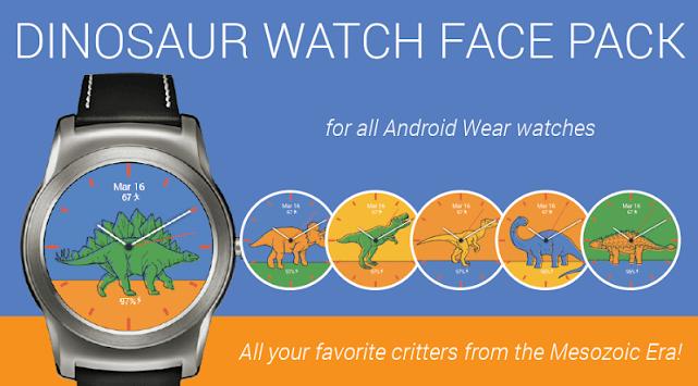 Dinosaur Watch Faces pc screenshot 1
