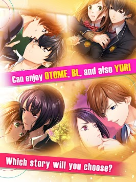 First Love Story【otome・yaoi・yuri】otaku dating sim pc screenshot 1