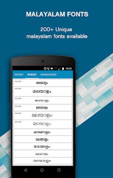 Malayalam Text & Image Editor pc screenshot 1