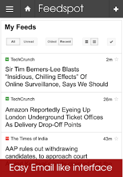 Feedspot News Reader. RSS pc screenshot 1