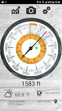 Altimeter free pc screenshot 1