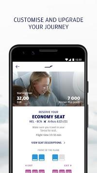 Finnair pc screenshot 2