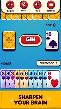 Gin Rummy Free! pc screenshot 1