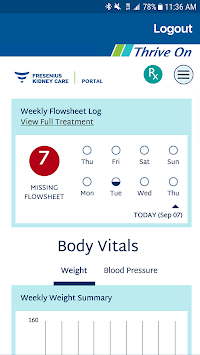Portal – Fresenius Kidney Care pc screenshot 1