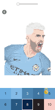 Football Players Coloring Number Books Pixel Art For Pc