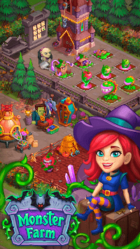 Monster Farm: Happy Halloween Game & Ghost Village pc screenshot 1