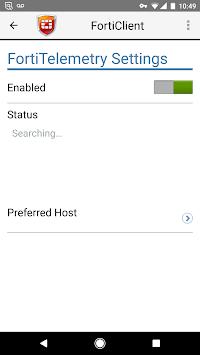 FortiClient pc screenshot 1