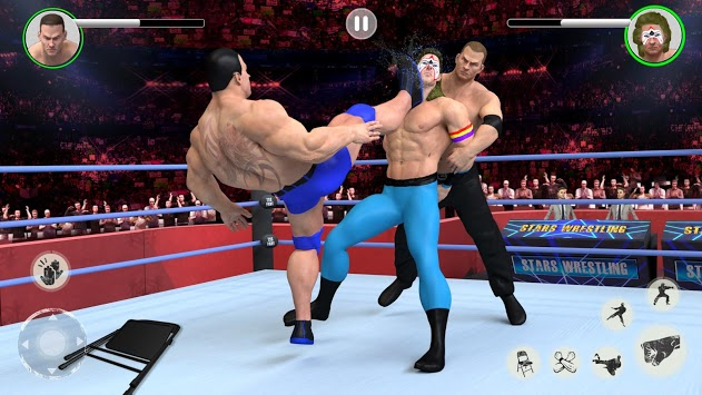 Men Tag Team Wrestling 2019: Fighting Stars Mania pc screenshot 2
