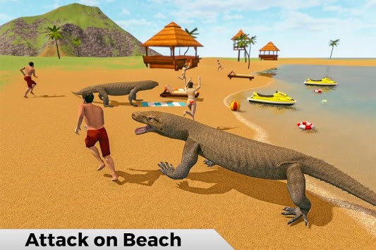 Komodo Dragon Family Sim: Beach & City Attack pc screenshot 1