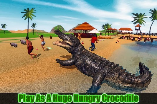 Crocodile Simulator 2019: Beach & City Attack pc screenshot 1
