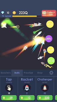 Idle Rocket - Aircraft Evolution & Space Battle pc screenshot 1
