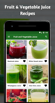 Fruit And Vegetable Healthy Juice Recipes For Free pc screenshot 1