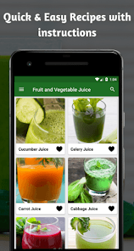 Fruit And Vegetable Healthy Juice Recipes For Free pc screenshot 2
