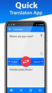 Ez Voice Translator: Language Translate, Interpret pc screenshot 1