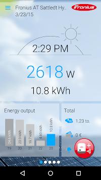 Fronius Solar.web live pc screenshot 1