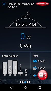 Fronius Solar.web live pc screenshot 2