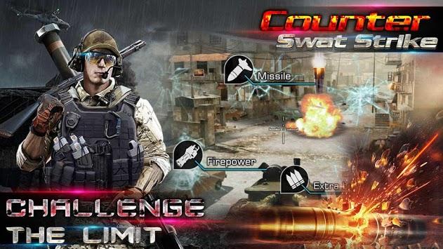Counter Swat Gun Strike - Free Shooter Game pc screenshot 1