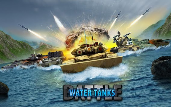 Army Tank Battle War On Water : Armoured Vehicle pc screenshot 1