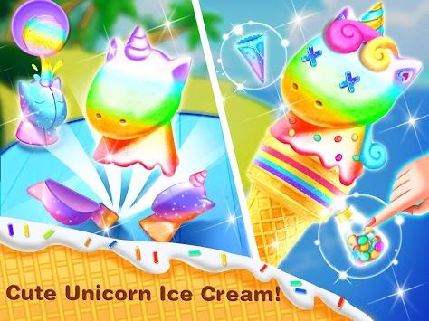 Ice Cream& Ice Popsicle Mania - Ice Dessert Maker pc screenshot 1