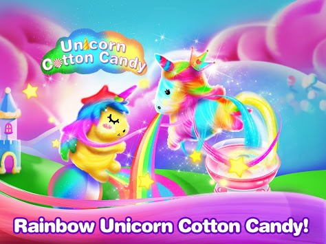 Unicorn Food- Cotton Candy Maker pc screenshot 1