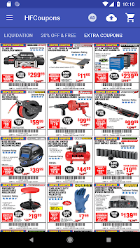 Coupons for Harbor Freight Tools pc screenshot 1