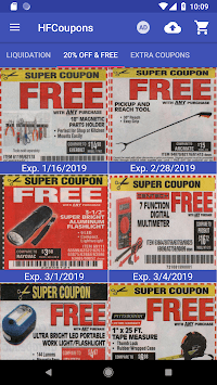 Coupons for Harbor Freight Tools pc screenshot 2