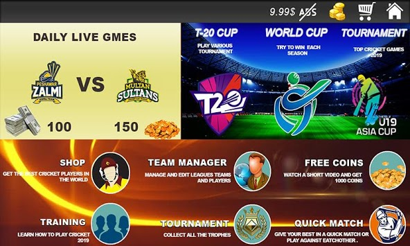 Live Cricket World Cup Stream 2019 ; Live Cricket pc screenshot 2