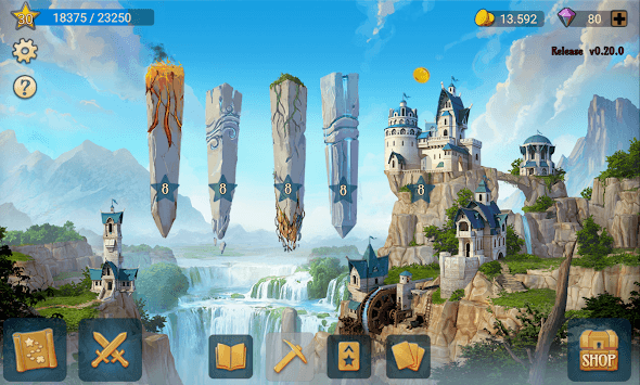 Elemancer – Legend of Cards: Collectible Card Game pc screenshot 1