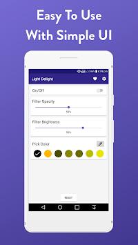 Low Brightness, Blue Light Filter - Light Delight pc screenshot 1