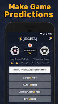 GameOn - Free Sports Picks 🤑🏆🏈🏀 pc screenshot 2