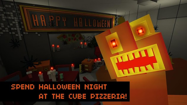 Halloween Night: Cube Pizzeria pc screenshot 1