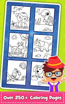 Coloring Games : PreSchool Coloring Book for kids pc screenshot 2
