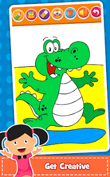 Coloring Games : PreSchool Coloring Book for kids pc screenshot 1