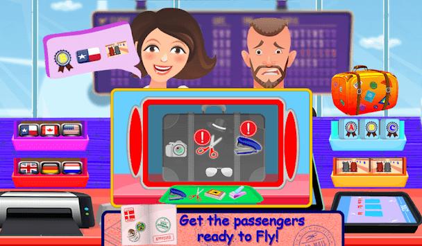 Flight Attendant Air Hostess - Cabin Crew Girl pc screenshot 1