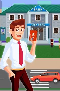 ATM Simulator Virtual Bank Cashier Free Kids Game pc screenshot 1