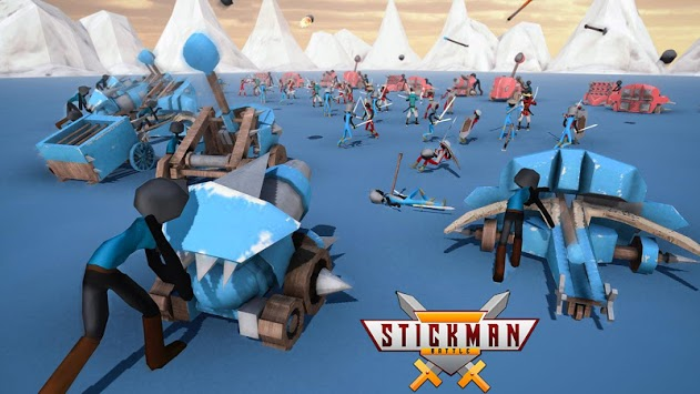 Stickman Battle Simulator - Stickman Warriors PC screenshot 1