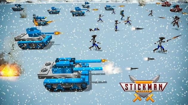 Stickman Battle Simulator - Stickman Warriors PC screenshot 2