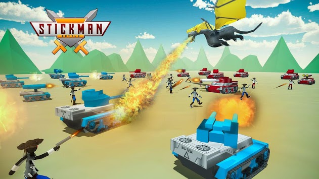 Stickman Battle Simulator - Stickman Warriors PC screenshot 3