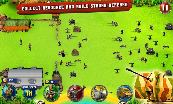 World War 2 Tower Defense Game pc screenshot 1