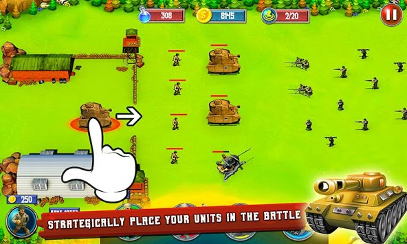 World War 2 Tower Defense Game pc screenshot 2