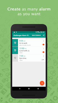 Challenges Alarm Clock - For Heavy Sleepers (Free) pc screenshot 1