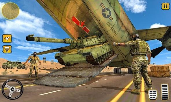 US Army Cargo Transport : Military Plane Games pc screenshot 1