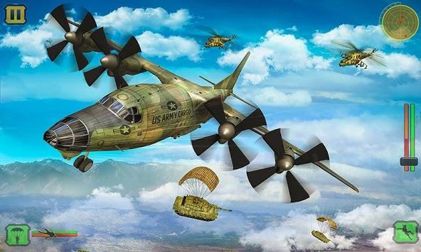 US Army Cargo Transport : Military Plane Games pc screenshot 2