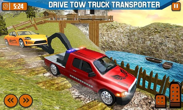 Offroad Tow Truck Driver Transport Truck Simulator pc screenshot 2