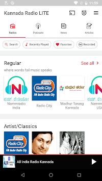 Kannada FM Radio HD - Podcast, Kannada  Live News pc screenshot 1